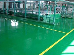 环氧树脂地坪的施工方法