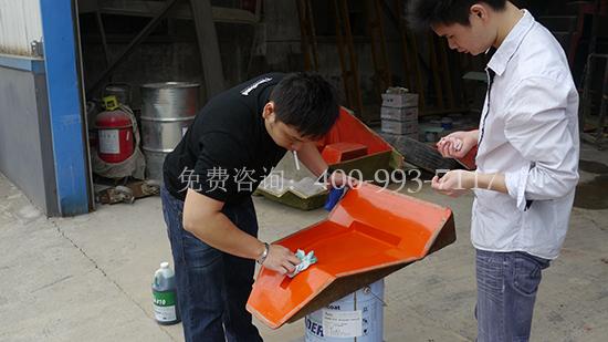 免打磨手糊玻璃钢制品成型工艺