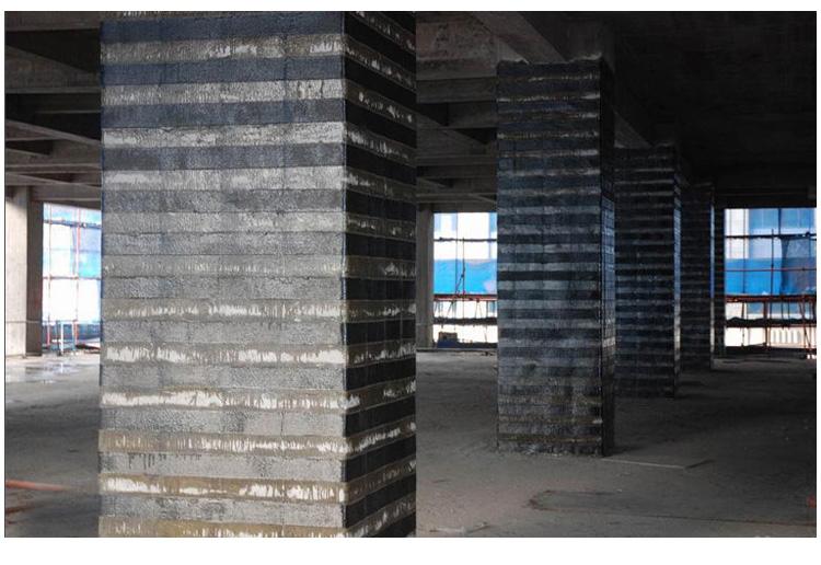 混凝土墙体碳纤维布加固用什么胶好?