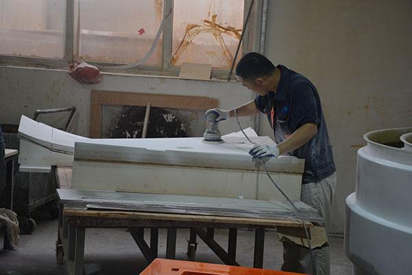 产品易打磨胶衣可以用于愿模型的表面处理吗?