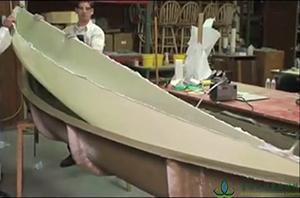 小船壳真空袋压法制作(视频)