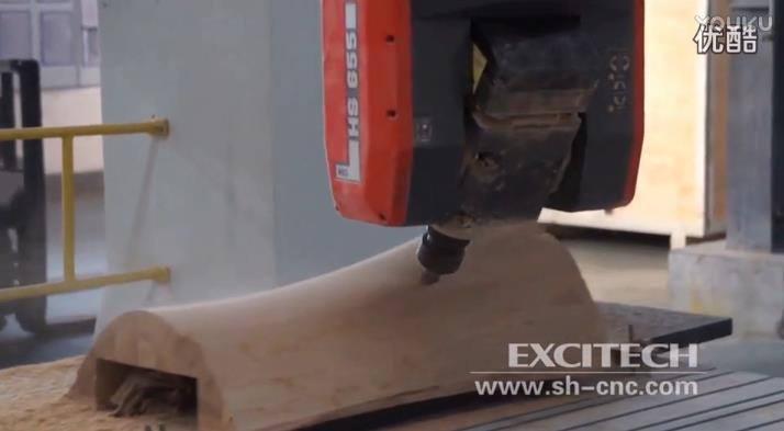 玻璃钢模具数控木模加工(视频)